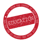 Education Red Stamp Rugged